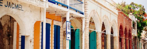 Sfeerbeeld-winkel-Jacmel-Haïti
