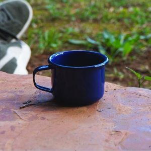 Handgemaakte-emaille-Espresso-kop-Blauw-120ml
